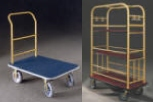 Commercial Hotel Bellman Luggage Carts For Sale