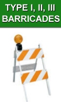 Type 1 2 3 Traffic Barricades