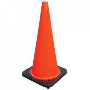 28 Inch Orange Highway Traffic Safety Cones