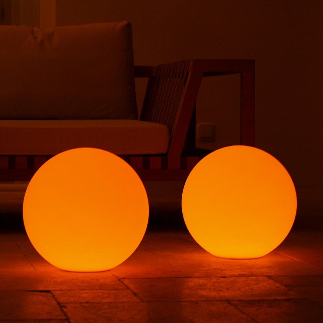 Outdoor Lighted Spheres Swimming pool balls stanchions traffic cones for sale boulevard buy large led lighted pool balls las vegas ledball workwithnaturefo