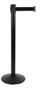 Visiontron RetractaBelt Value Series Stanchions
