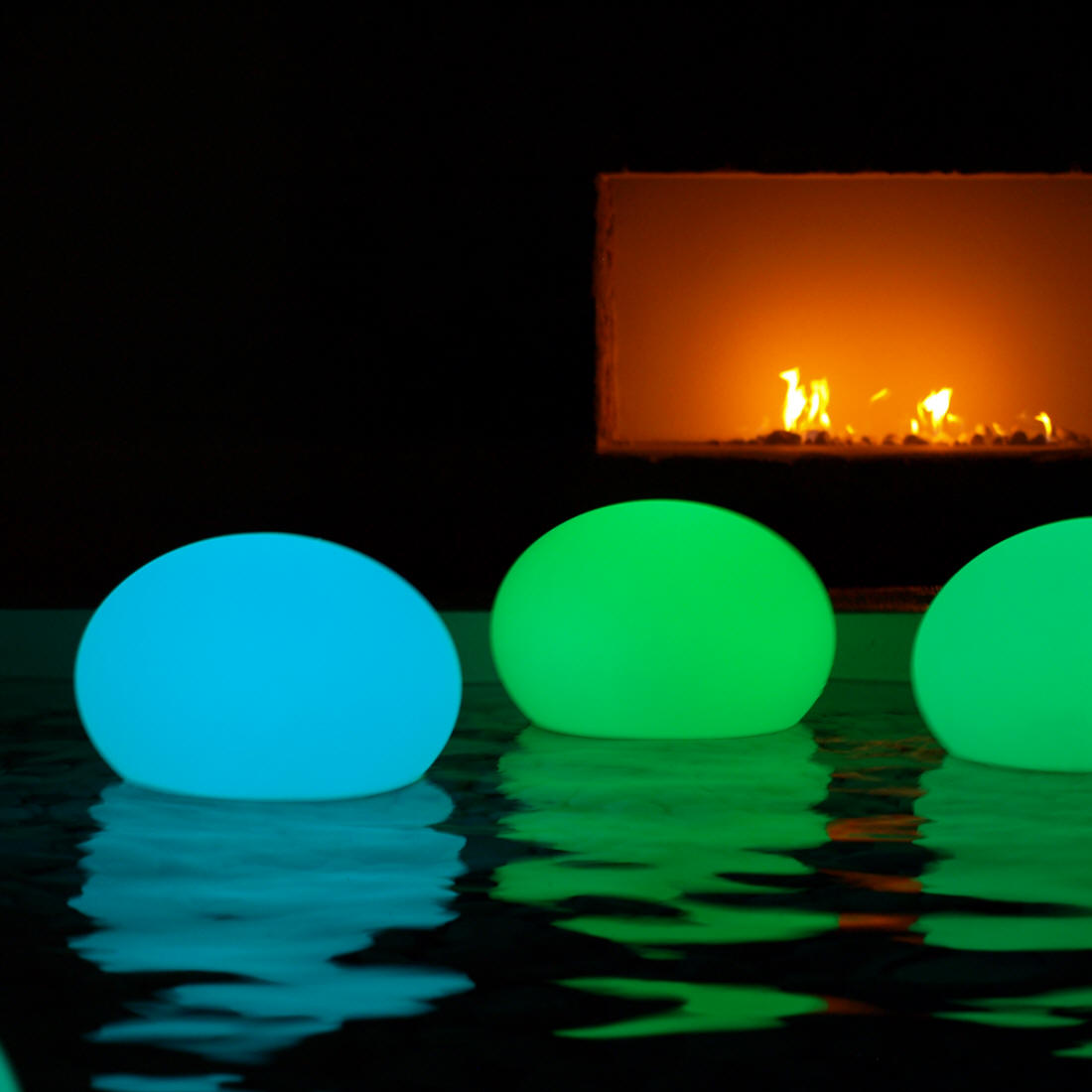 Buy Waterproof LED Pool Decor Las Vegas #LEDBalls