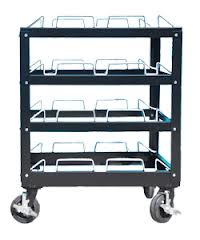 12 Post Stanchion Carts