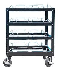 12 Post Stanchion Carts