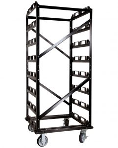 24 Post Stanchion Storage Cart