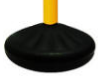 Dome Base Plastic Stanchion