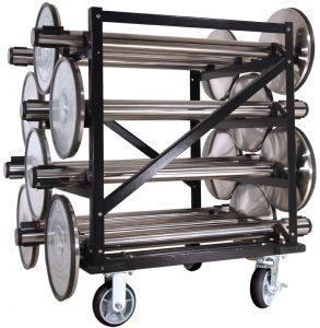 Visiontron HPSC-12 12 Post Stanchion Carts