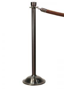 Visiontron Statuary Bronze Rope Stanchions ST400D-SBZ2