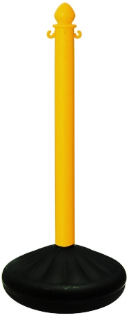 Yellow Plastic Stanchion