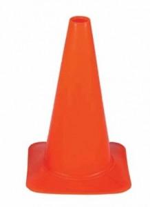 5 Inch Orange Field Marker Cones
