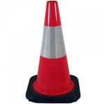 12 inch JBC Orange Reflective Traffic Cone