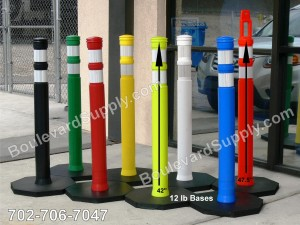 Traffic Control Delineator Posts