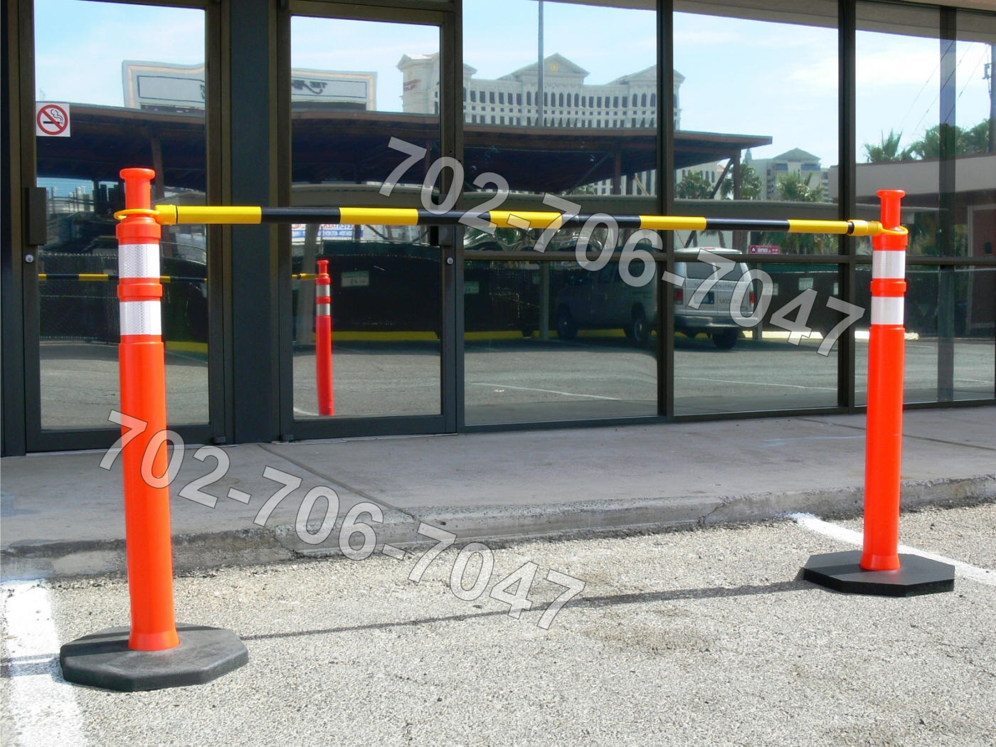 JBC Traffic Bar Barricade Supplier