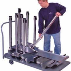 Stanchion Transport Storage Carts