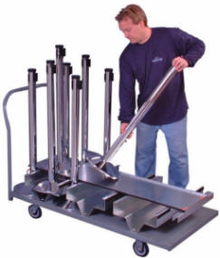 18 Post Flatbed Stanchion Carts