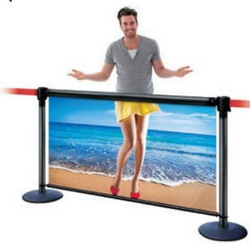 Retractable Stanchion Banners