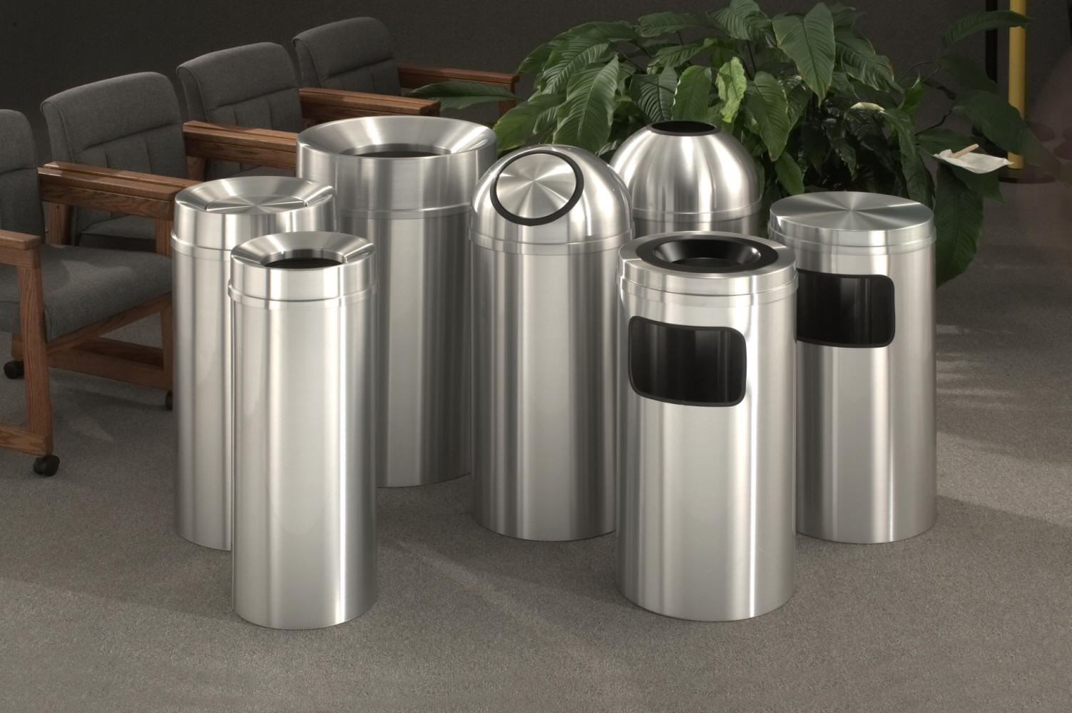 Glaro New Yorker Trash Receptacles Dealer Las Vegas