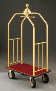 4 Wheel Bellman Luggage Cart