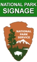 Portable All Weather Indoor Outdoor National Park Signs
