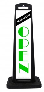 We Are Open For Business Sidewalk Signs
