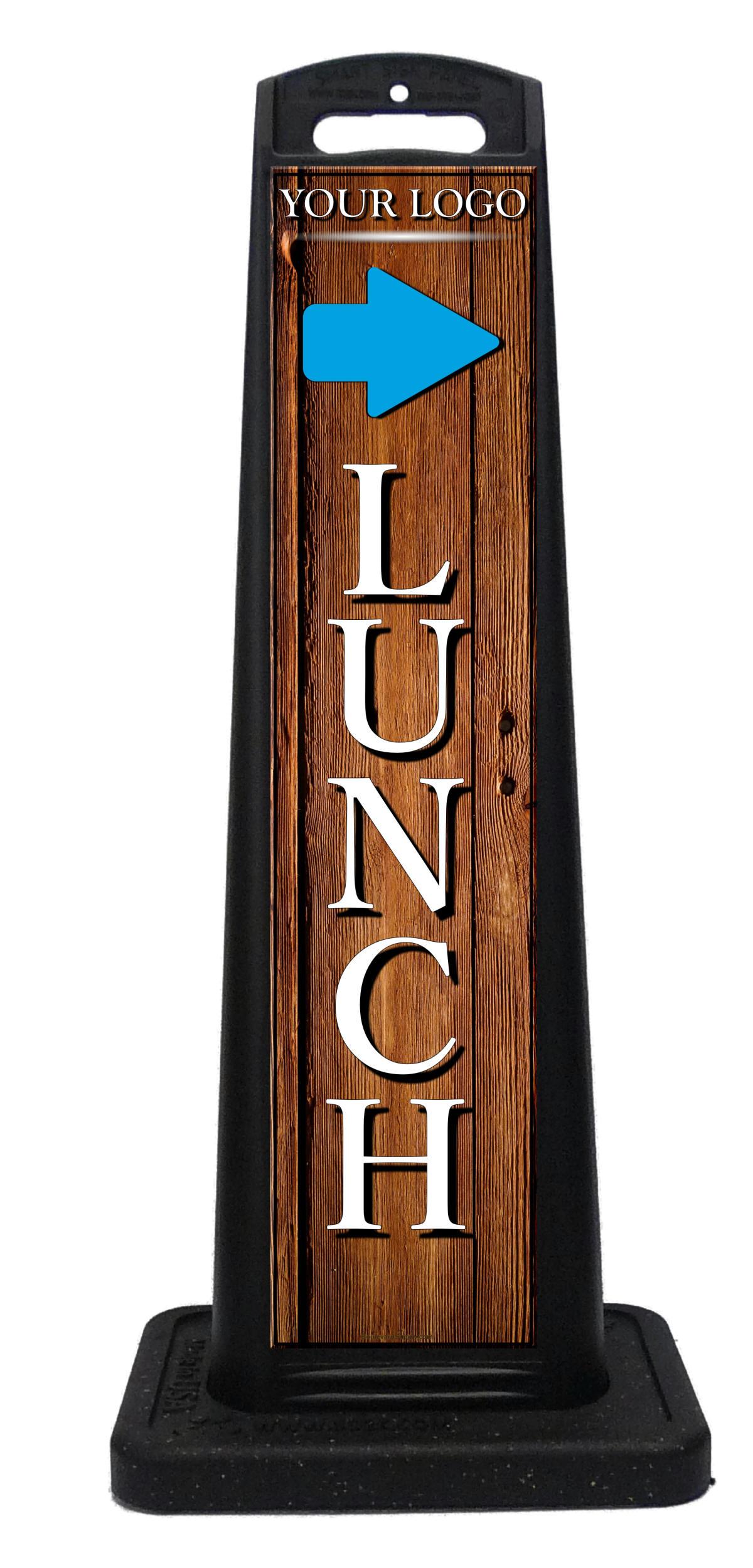 Open For Lunch Sidewalk Signs Restaurant Cafe Diner