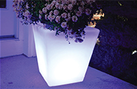 16 Inch LED Flower Pot Planter