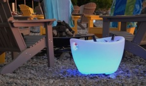 LED Beverage Trough for Event Rental Companies