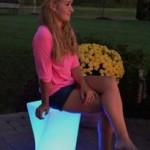 Main Access LED Twist Seat Stool