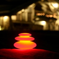 LED Zen Garden Rock Stack