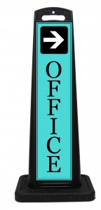 To Office Location Sign Arrow