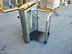 Waist Hight Portable Turnstile Rental