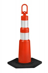 28 Inch Orange Construction Cones