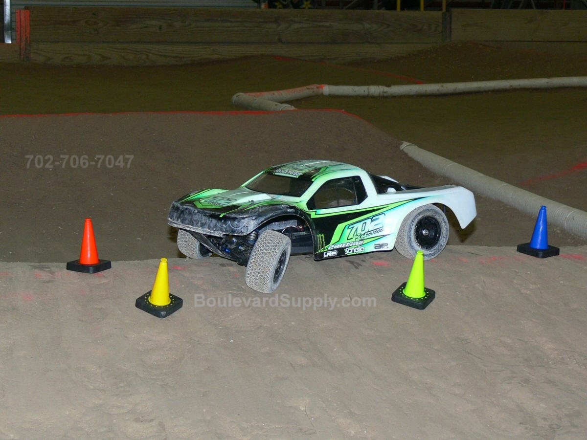 RC Dirt Asphalt and Drift Racing Race Track Cones