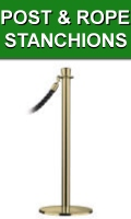 Post and Rope Stanchions For Sale