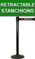 Retractable Belt Stanchions and Line Barriers
