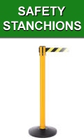 Safety Stanchions Line Barriers
