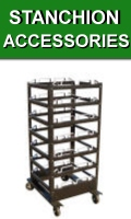 Stanchions Accessories Carts Bowls