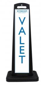 Wyndham Desert Blue Valet Sign Las Vegas
