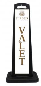 St Regis Hotel Valet Sign