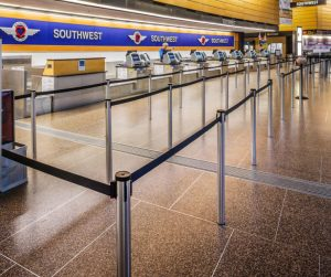 Crowd Control Barriers For Airports
