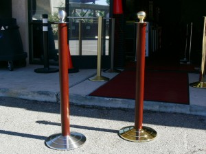 Bank Crowd Control Stanchions