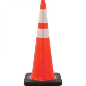 Orange Airport Apron Safety Cone