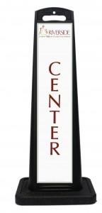 Riverside Convention Center Portable Sign