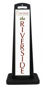 Riverside Convention Center Portable Driveway Signage