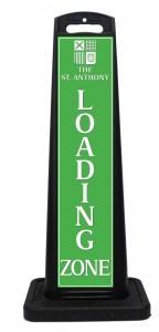 St Anthony Hotel Loading Zone Sign