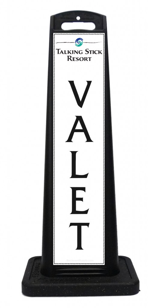 Talking Stick Resort Valet Sign