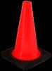 12 inch Orange Traffic Cone RS30008C