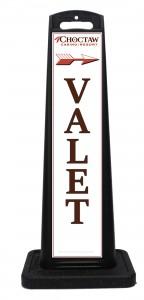 Choctaw Resort Valet Parking Signs