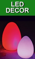 Rechargeable Color Changing LED Lights and Decor