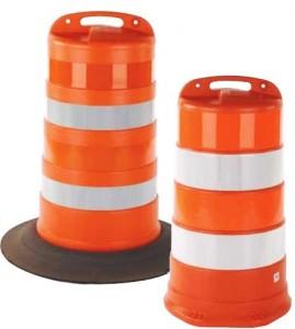Road Construction Orange Barrels For Sale